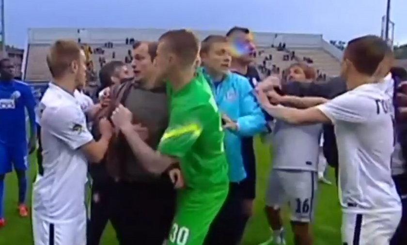 Roman Zozulia uderzył sędziego po meczu Dnipro – Zoria Ługańsk