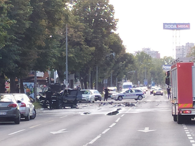 Ubistvo Strahinje Stojanovića na Novom Beogradu