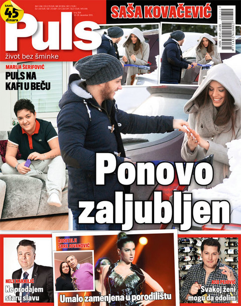 Novi Puls! Saša Kovačević ponovo zaljubljen!