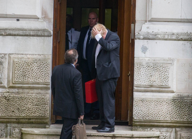 Boris Džonson je u centru skandala