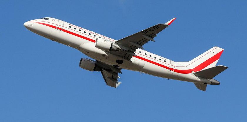 Problemy samolotu z prezydentem Dudą. LOT zgłosił incydent po tygodniu