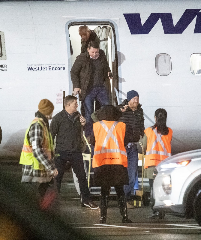 Princ Hari sinoć doputovao kod  drage u Kanadu