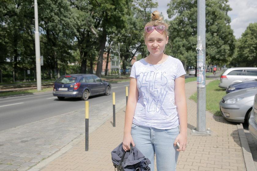 Joanna Wawrzynów (20 l.), studentka AWF