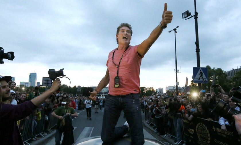 David Hasselhoff w Polsce