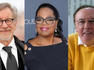 Stevel Spielberg, Oprah Winfrey, James Patterson