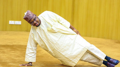 Communications Minister Pantami stuns audience with exercise drills during retreat
