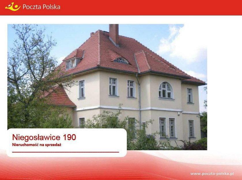 Budynek Poczty Polskiej w Niegosławicach