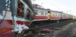 Katastrofa! Zderzenie pociągów PKP!