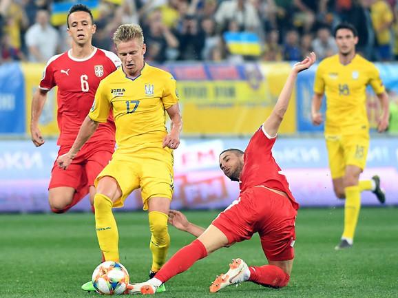 """! Srbija primila pet golova, Ukrajinci POTPUNO DEMOLIRALI """"orlove"""""""