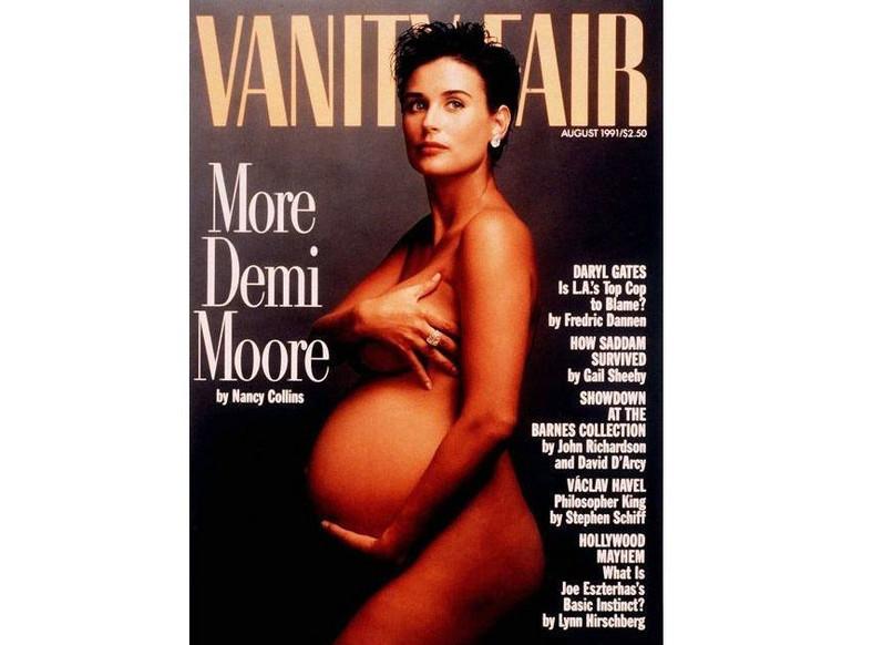 Demi Moore na okładce Vanity Fair