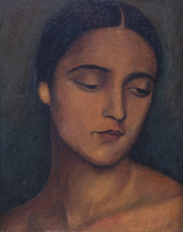 Glava (Portret slikareve žene) iz 1925. godine, Legat Muzeja savremene umetnosti
