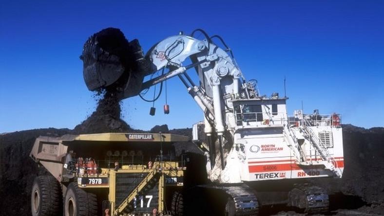 Koparka RH 400 firmy O&K to największa koparka świata. Waży 788 ton