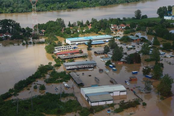Poplavljen Obrenovac 2014. godine
