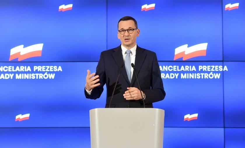 Premier Mateusz Morawiecki da zielone światło na takie zmiany?