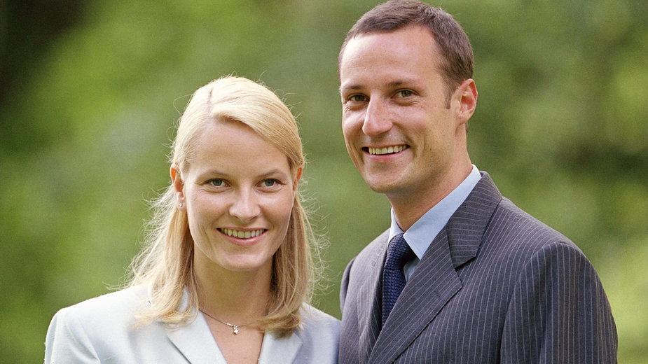 Księżna Mette-Marit i książę Haakon