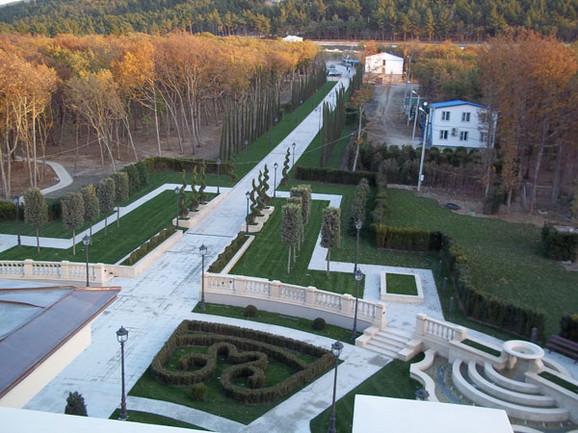 Vrt u Putinovoj palati