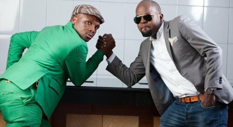 Alex Mwakideu and Jalang'o.