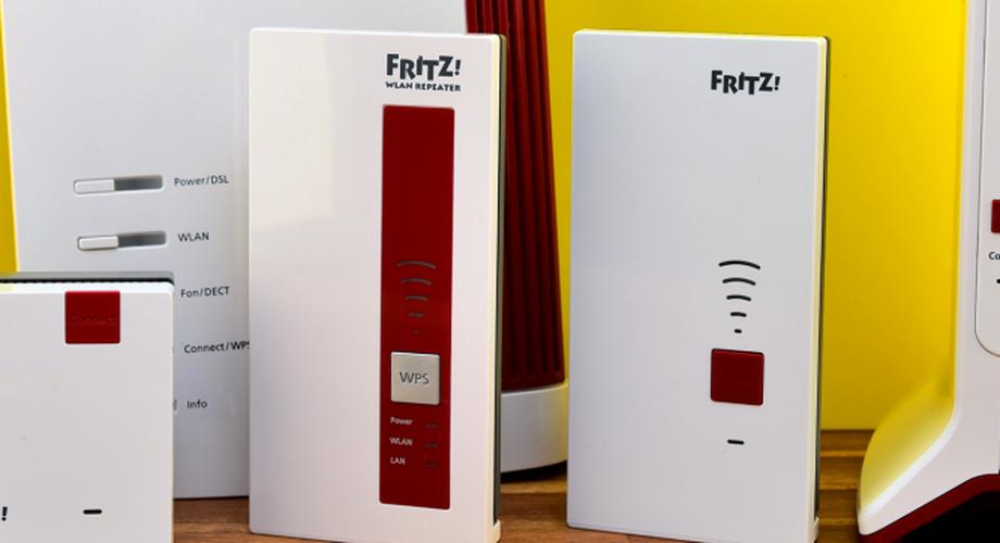Fritz Repeater 1200, 1750E, 2400 und 3000 im Vergleich