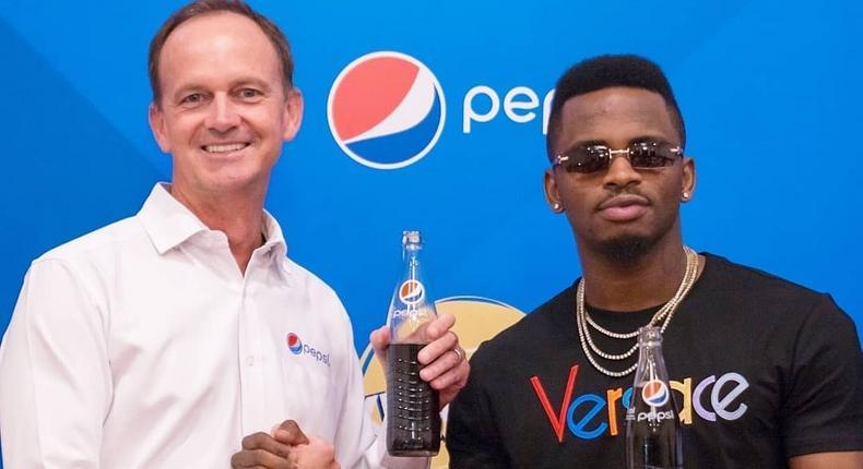 Diamond Platnumz, Pepsi Brand Ambassador (Instagram)
