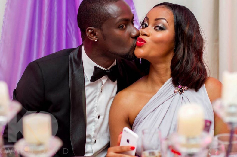 Chris Attoh and ex-wife, Damilola