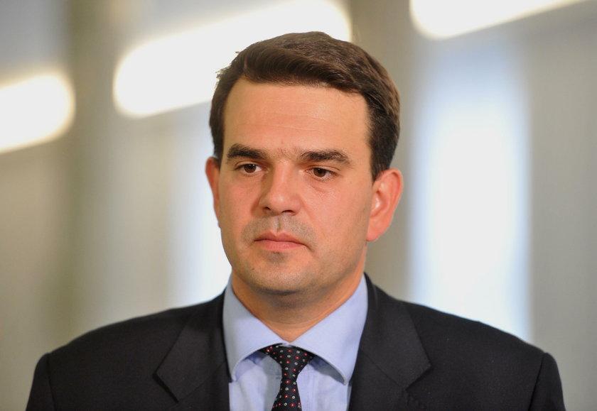 Jacek Tomczak - trzeci z wyrzuconych parlamentarzystów