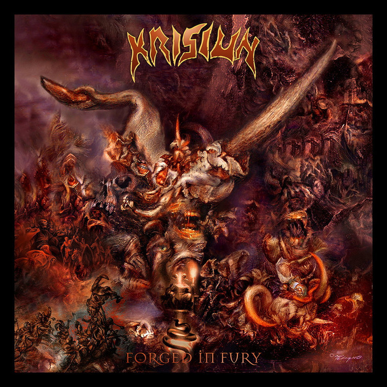 "Krisiun – ""Forged In Fury"""