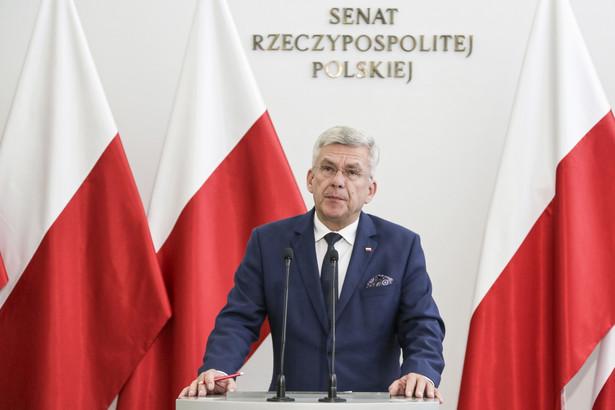 Zgłoszone poprawki, które pozytywnie zaopiniowały senackie komisje, wyeliminują zastrzeżenia dot. nowelizacji Kodeksu karnego tak, że będzie to dobra ustawa, która w sposób adekwatny będzie karała pedofilów; każdą klęskę można przekuć w sukces - powiedział w piątek marszałek Senatu Stanisław Karczewski.