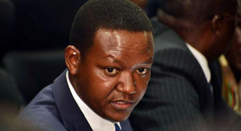 Machokos Governor Alfred Mutua