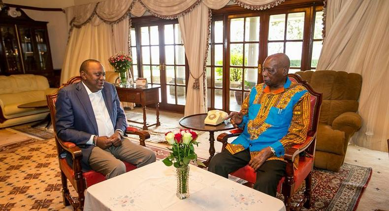 The day President Uhuru Kenyatta risked jail by going against Daniel arap Moi's government