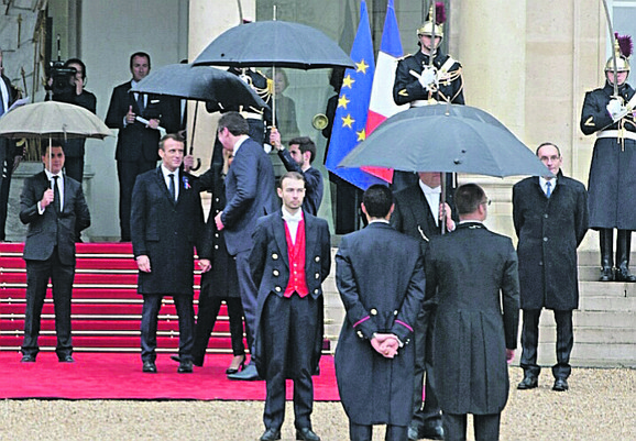 Predsednik Srbije sa predsednikom Francuske