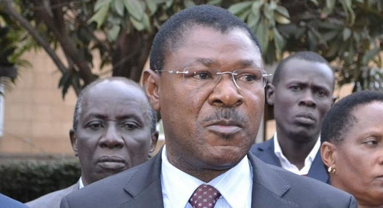 Wetangula reacts to Matiang'i's directive on closure of Refugee camps