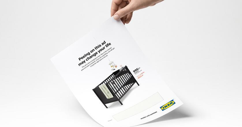 Tak wygląda reklama IKEA z testem ciążowym. Kobiety w ciąży mogą liczyć na zniżkę