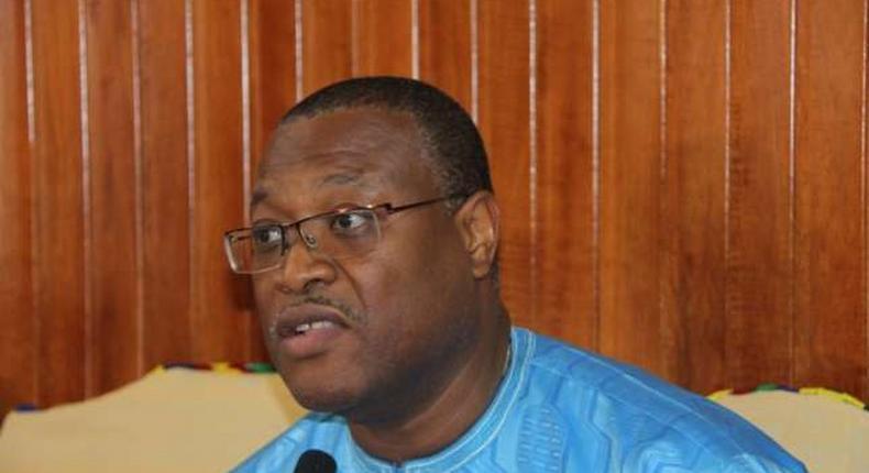 Minister of Health, Alex Segbefia