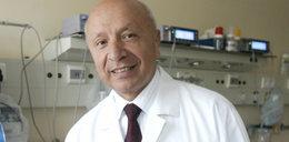 Szpital ukarany za decyzję prof. Chazana