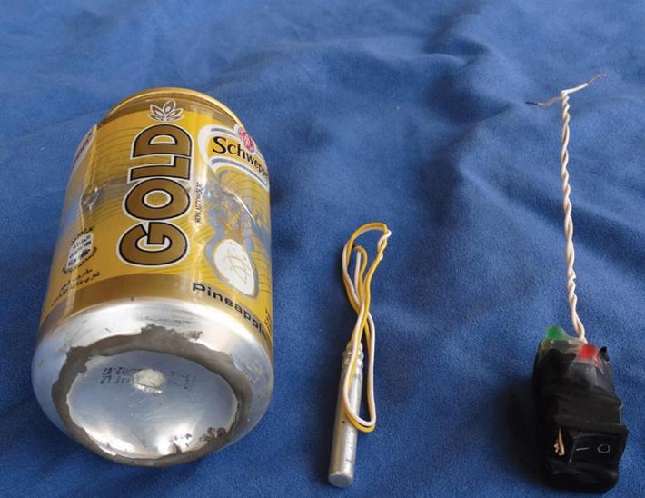 Islamic State releases photo of alleged bomb used on Russian plane