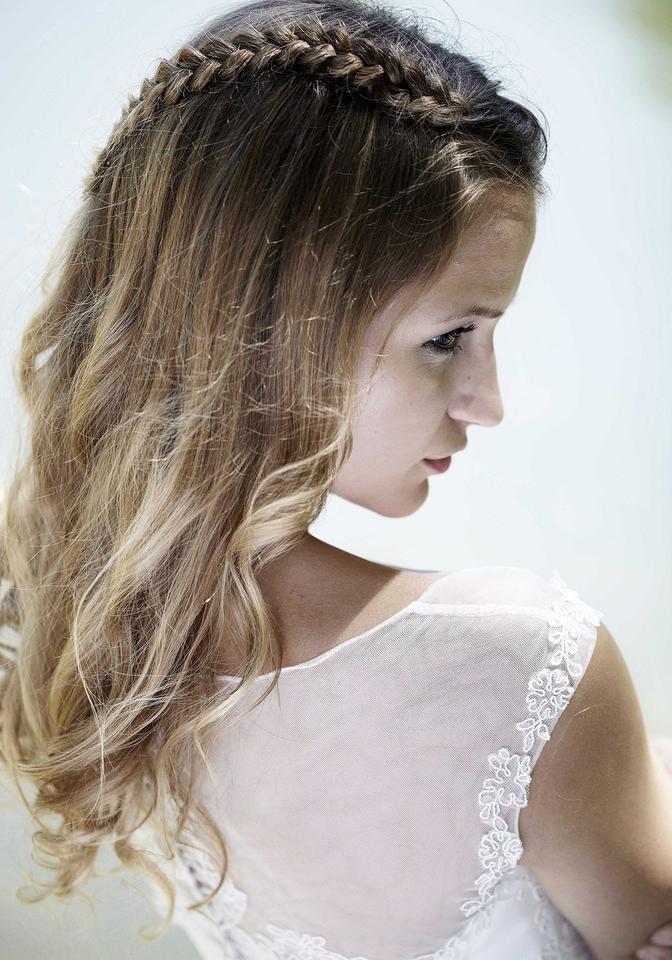 Luźne Lekkie Fryzury Na ślub ślub