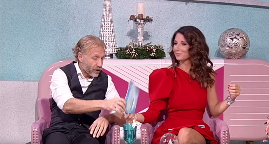 Milan Kalinić i Sanja Marinković
