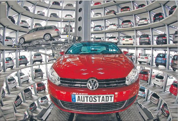 Samochód Volkswagena. Fot. REUTERS/FORUM