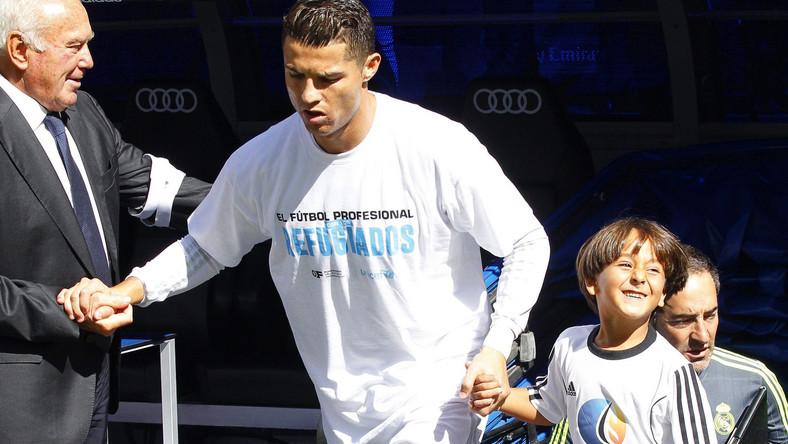 Cristiano Ronaldo i 7-letni Zaid Abdul