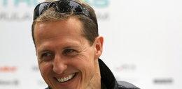 Schumacher był przytomny, miał otwarte oczy