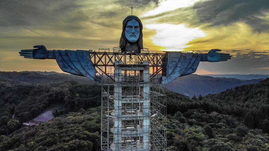Gigantyczna figura Chrystusa w Encantado (Brazylia) będzie większa od tej z Rio