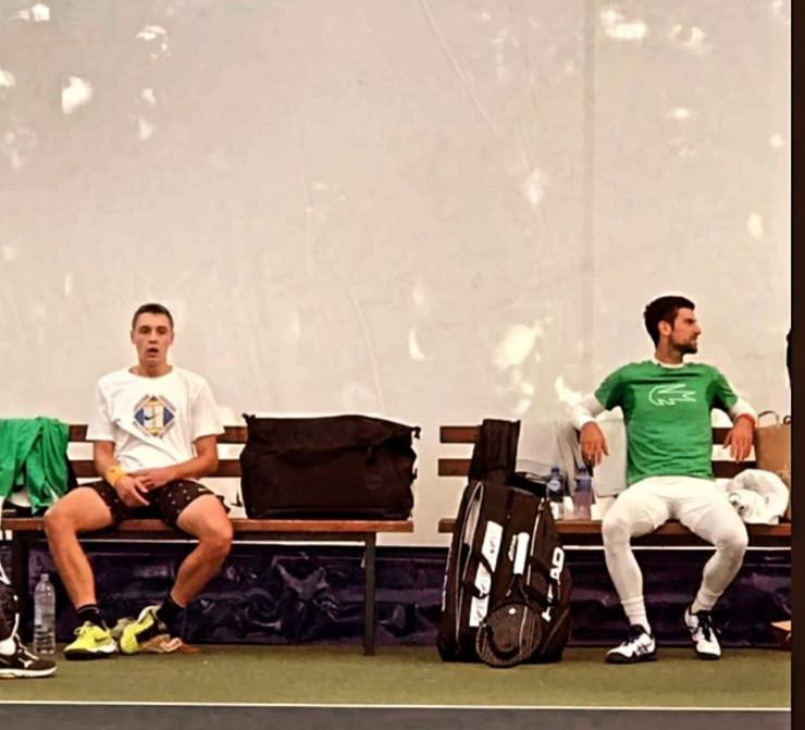 Novak Đoković i Hamad Međedović