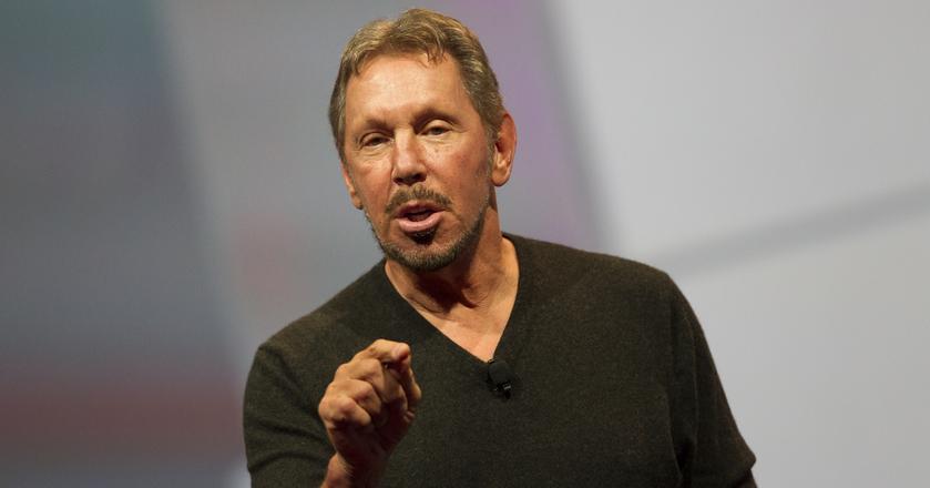 Larry Ellison, współzałożyciel, prezes rady nadzorczej i CTO w Oracle