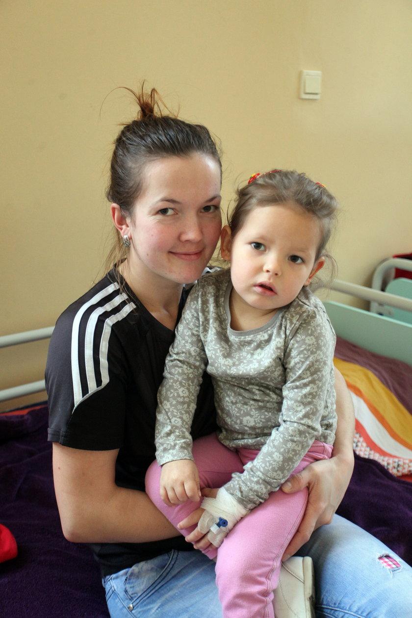 Paulina Szenke (25 l.) z córką Antosią (3 l.)