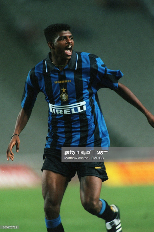 Kanu Nwankwo's career at Inter stalled because of his heart problem (Getty Images)