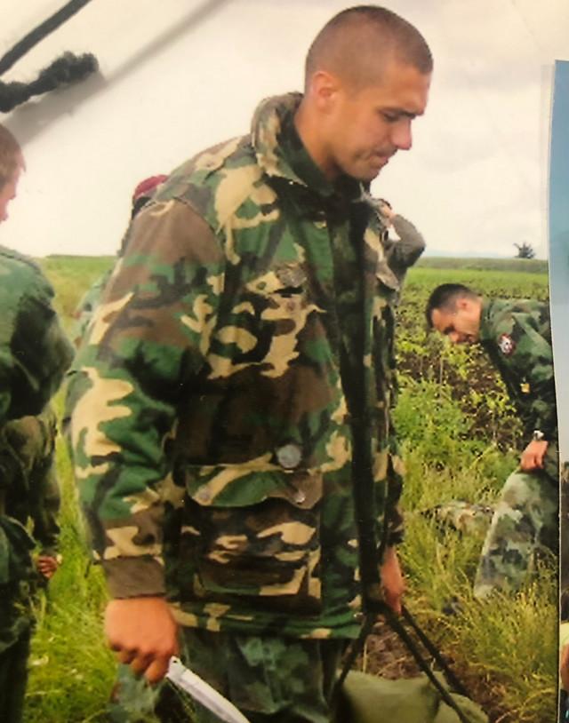 Od četvrte godine je znao da će postati oficir: Major Stojan Milović