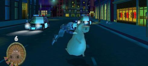 Screen z gry Madagaskar