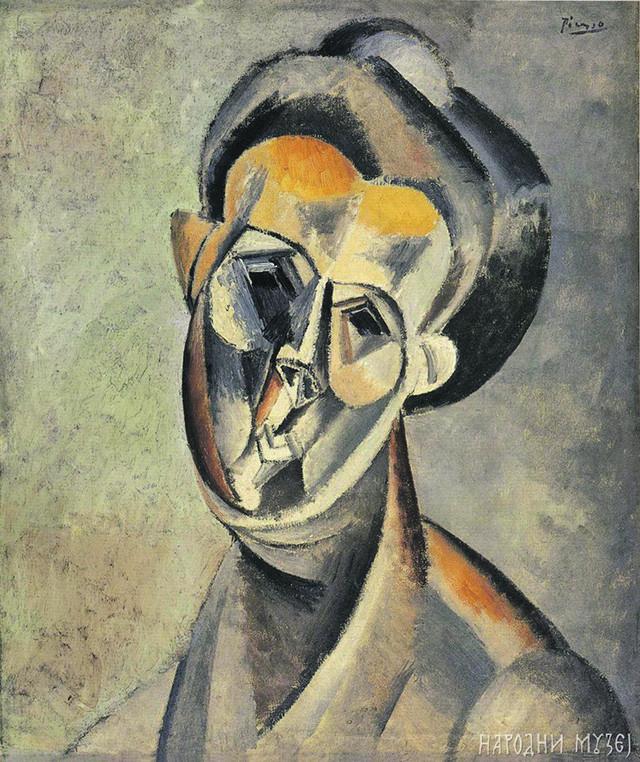 Pablo Pikaso: Glava žene (1909)