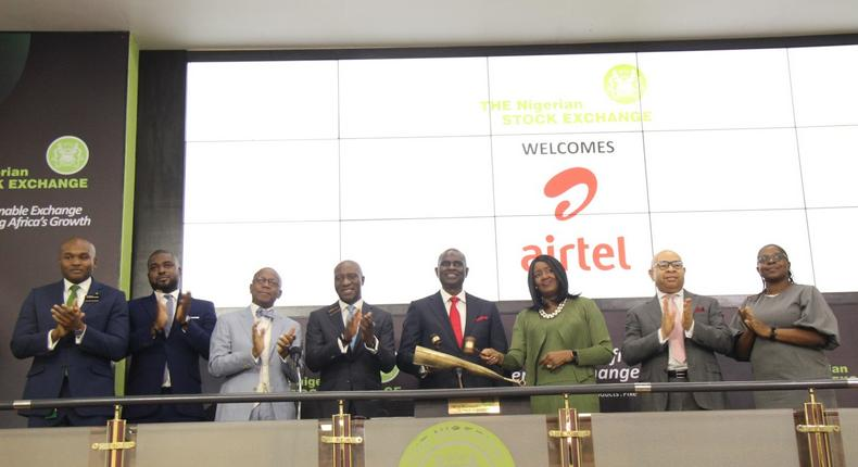 Airtel Africa Plc at the NSE