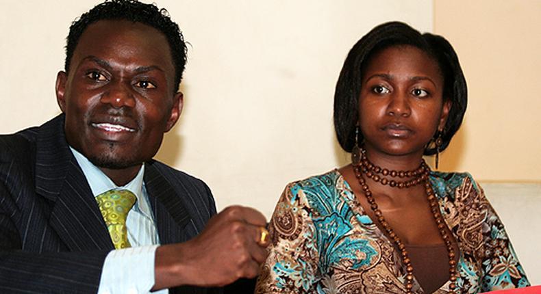 Esther Arunga and Hellon Joseph